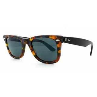 Ray Ban Mens RB2140 1158R5 Blue Tortoise Plastic Wayfarer Sunglasses