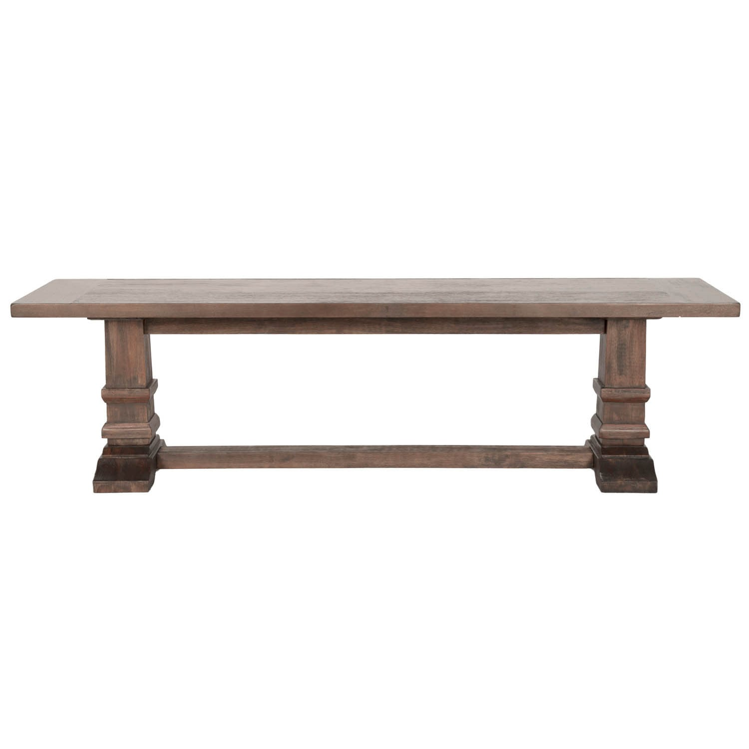 Gray Manor Harlan Rustic Java Veneer and Acacia Large Din...