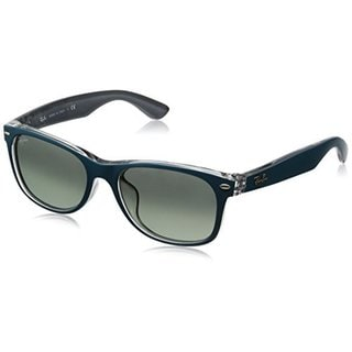 Ray Ban Mens RB2132F 619171 Grey Gradient Plastic New Wayfarer Sunglasses