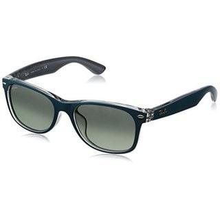 Ray Ban Mens RB2132F 619171 Grey Gradient Plastic New Wayfarer Sunglasses