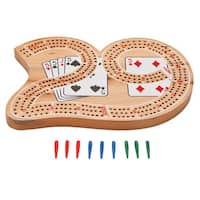 Mainstreet Classics Wooden '29' Cribbage Board