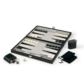 Mainstreet Classics Classic 15-inch Backgammon Set