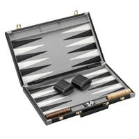 Mainstreet Classics Wood 22.5-inch Backgammon Set