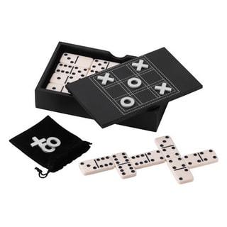Mainstreet Classics Domino/Tic Tac Toe Game Set