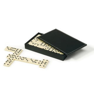 Mainstreet Classics Domino Set with Case - Off-white