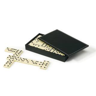 Mainstreet Classics Domino Set with Case - Off-white|https://ak1.ostkcdn.com/images/products/14031860/P20650125.jpg?impolicy=medium