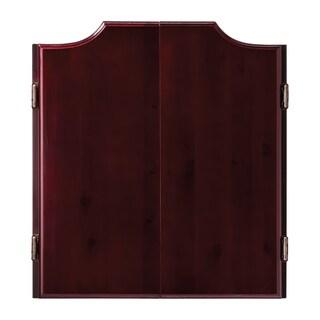 Viper Hudson Mahogany Oak Double-door Dartboard Cabinet