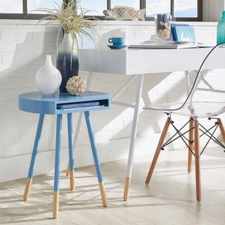Marcella Paint-dipped Round End Table iNSPIRE Q Modern|https://ak1.ostkcdn.com/images/products/14031886/P20650157.jpg?impolicy=medium