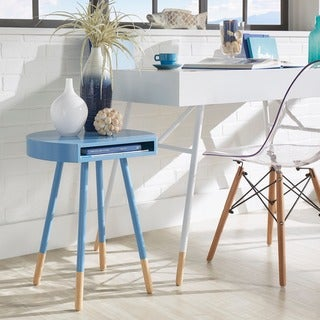 marcella paintdipped round end table inspire q modern