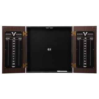Viper Stadium Dartboard Cabinet with Shot King Sisal Dartboard