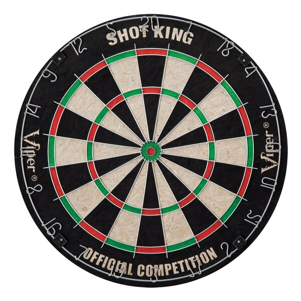 Viper Shot King Sisal Fiber Dartboard