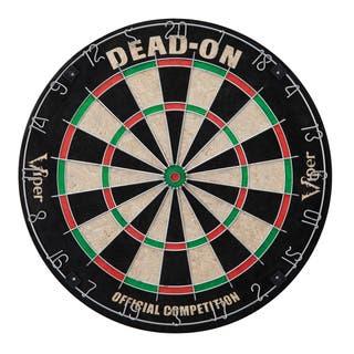 Viper Dead-on Sisal Fiber Dartboard https://ak1.ostkcdn.com/images/products/14031894/P20650159.jpg?impolicy=medium