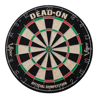 Viper Dead-on Sisal Fiber Dartboard