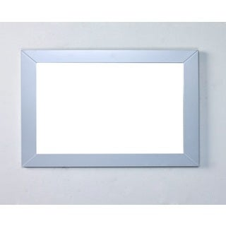 Eviva New York Grey Framed Bathroom Vanity Mirror