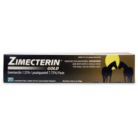Zimectrin Gold Equine Dewormer