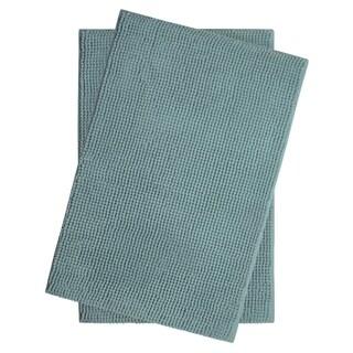 Plush Memory Foam Chenille Cushioned 17 x 24 in. 2-Piece Bath Mat Set w/ BounceComfort Technology