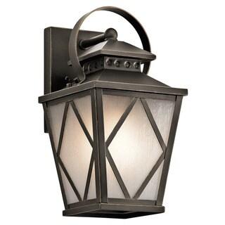 Kichler Lighting Hayman Bay Collection 1-light Olde Bronze Outdoor Wall Lantern