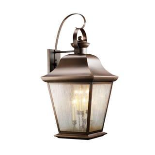 Kichler Lighting Mount Vernon Collection 6-light Olde Bronze Outdoor Wall Lantern