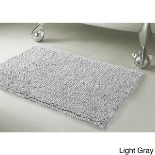 Resort Collection Plush Shag Chenille Bath Mat (17 inches x 24 inches) (More options available)