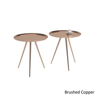 Zavia Metal Nesting Tables (Set of 2) by MID-CENTURY LIVING
