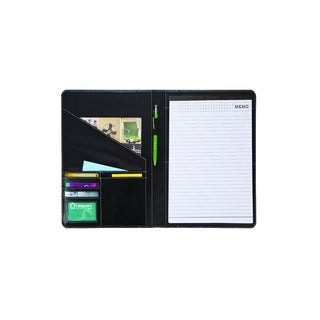 Goodhope Black Bonded Leather Memo Pad Holder