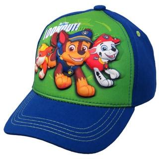 Nickelodeon Paw Patrol Boys' Blue Cotton 3D Pop Baseball Cap