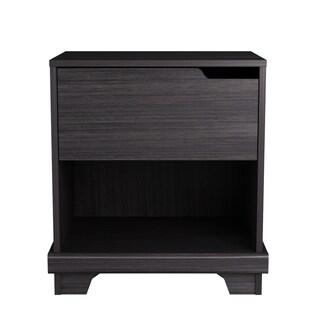 Clay Alder Home Manhattan Brown Wood 1-drawer Nightstand