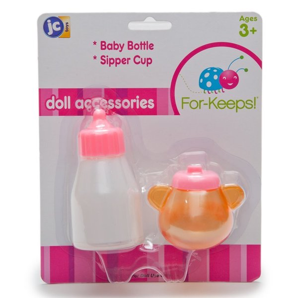 Doll's Magic Milk Bottle and Sippy Cup Set
