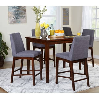 Simple Living Century 5 Piece Counter Height Set