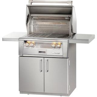"Alfresco 30"" ALXE Standard Grill on Cart With Rotisserie"