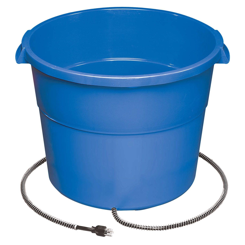 Allied Precision Heated 16 Gallon Tub (16 gallon), Blue