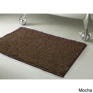 Resort Collection Plush Shag Chenille Bath Mat (21 x 34) (More options available)