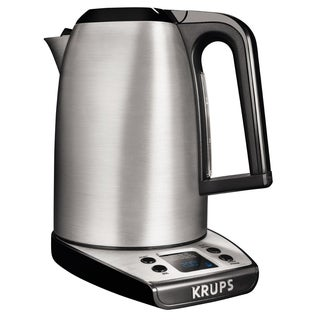 Krups BW314 Savoy Adjustable Temperature LCD Display Electronic Kettle
