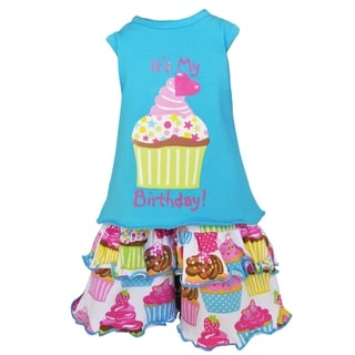 AnnLoren Original Happy Birthday Cupcake Doll Outfit Fits 18-inch Dolls