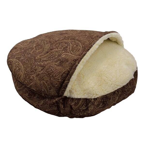 Snoozer Cozy Cave Laurel Premium Micro Suede Pet Bed