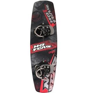 Nash No-Fear Crux Wakeboard with Brandon Bindings