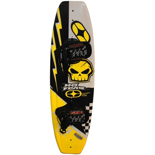 Nash No-Fear Concept 4-point Wakeboard With Chaser Bindings