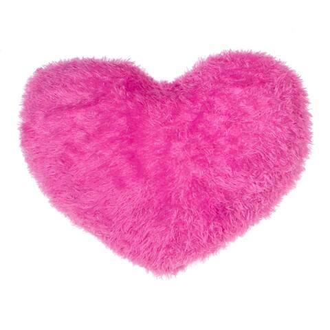 Decorative Heart Throw Pillow