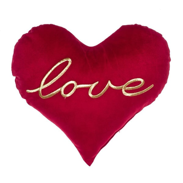 'All You Need Is Love' Heart Pillow