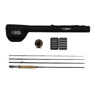 Osage River Prospect Nylon 5/6 9-foot Length Complete Fly Fishing Package
