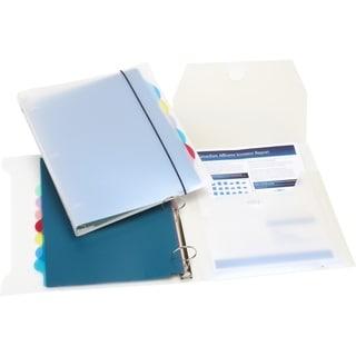 Storex Poly 1.5-inch Organizer Binder 4-pack