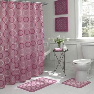 Bath Fusion Terrell Geometric 15-Piece Bathroom Shower Set