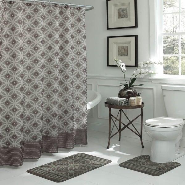 Bath Fusion Hartford 15-piece Geometric Bathroom Shower Set