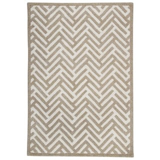 M.A.Trading Hand Tufted Portland White (4'6 x 6'6)