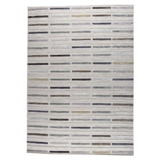 M.A.Trading Hand Woven Khema5 Grey (9'x12') (India)