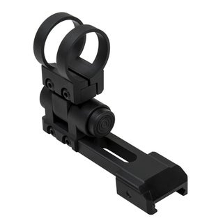 "NcStar Picatinny 1"" Extended Flashlight Mount Modular, Black"