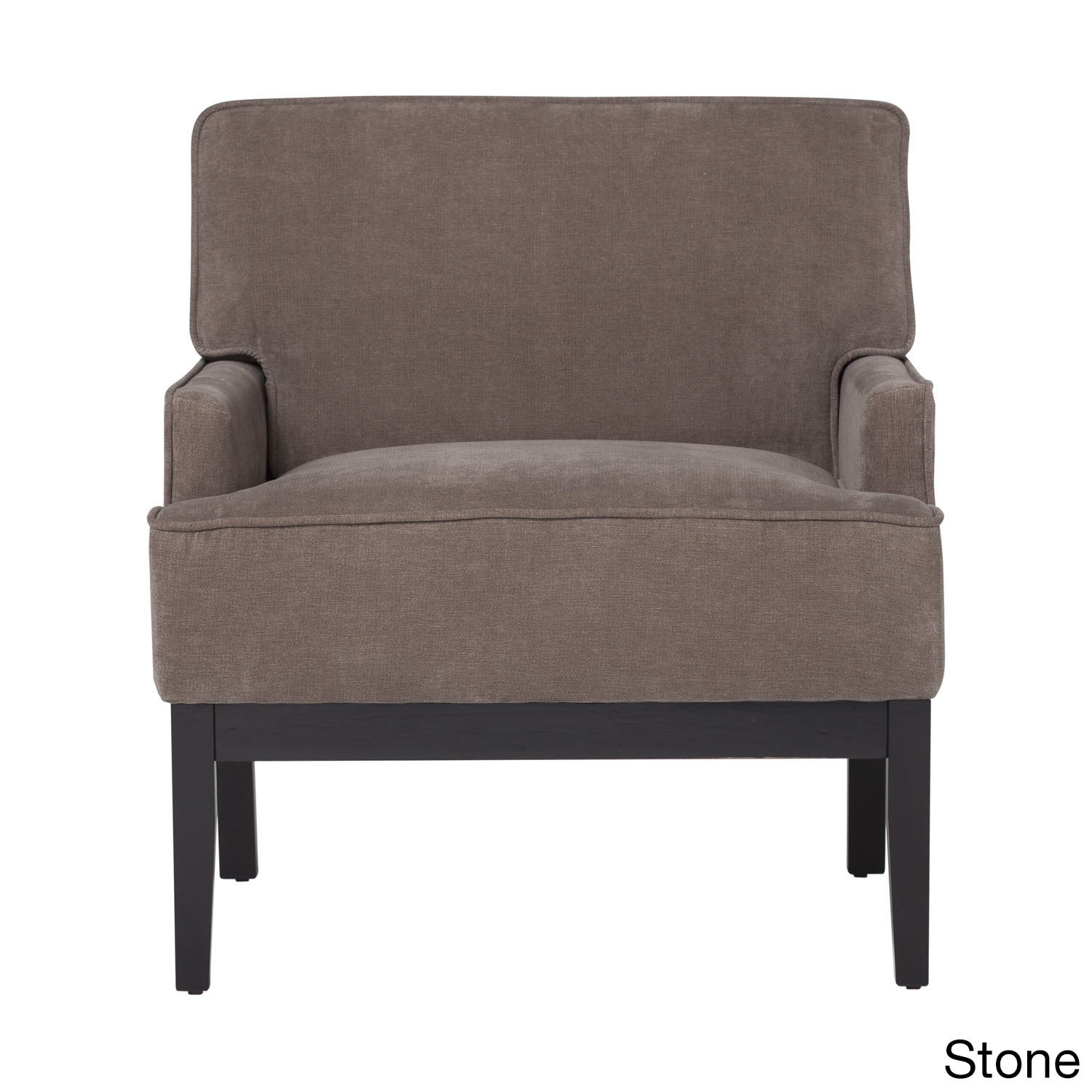 Offex Home Living Room Polyester Fabric Parapet Chair (St...