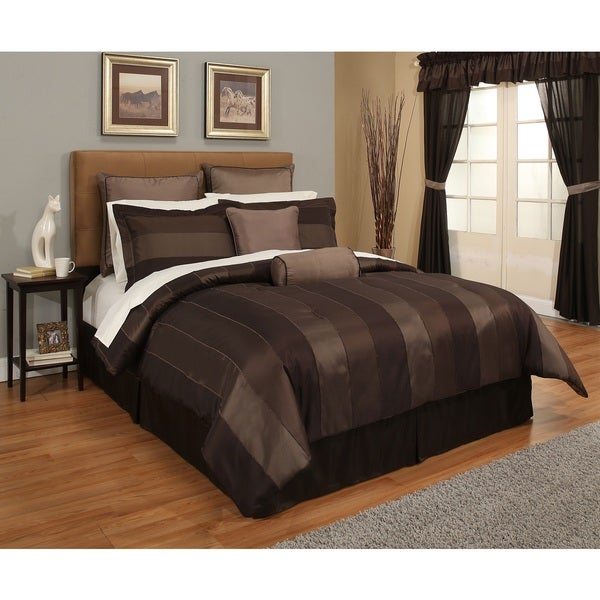 Verno Night Vision 24-pc Chenille Stripe Bed-In-A-Bag