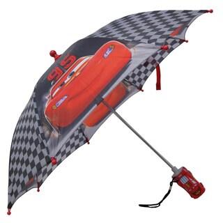 Disney Cars Lightning McQueen 95 Black Umbrella