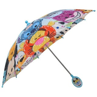 Disney Tsum Tsum Multicolored 3D Handle Umbrella